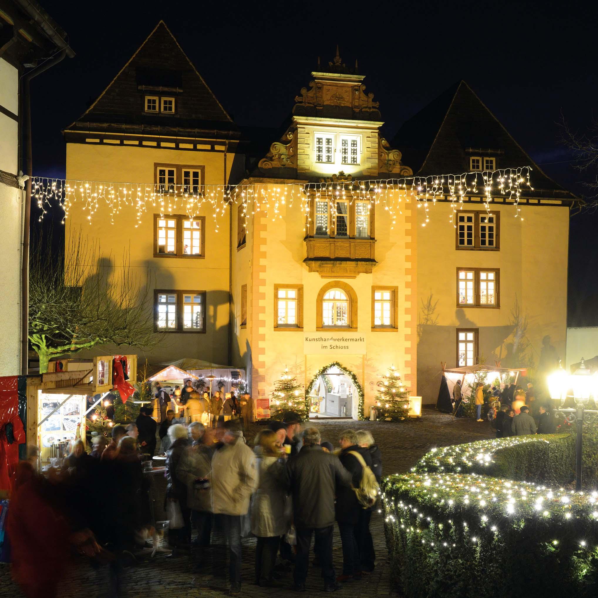 Weihnachten auf Schloss FÜRSTENBERG_FÜRSTENBERG Porzellan