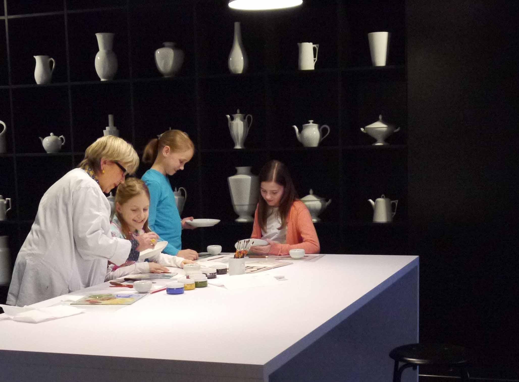 Mit-mach-Aktion Kinder Besucherwerkstatt