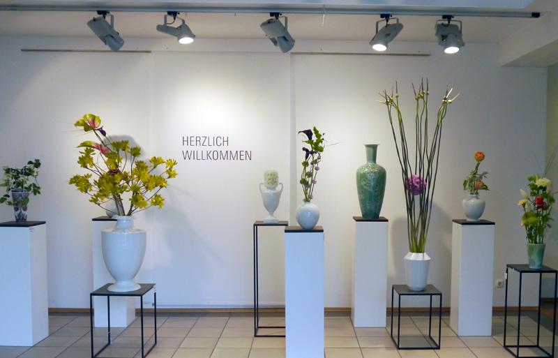 Dekoration im Manufaktur Werksverkauf von Björn Kroner-Salié