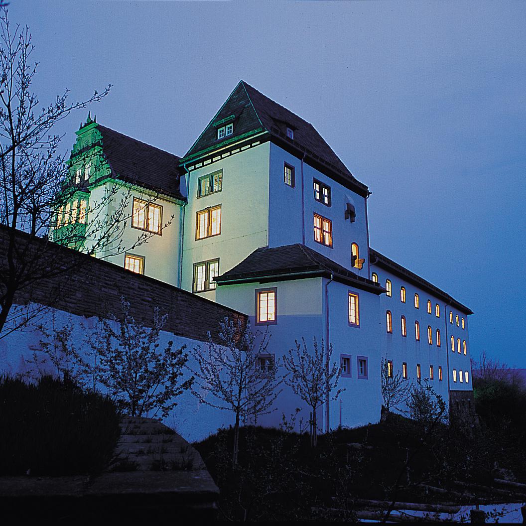 Museum Schloss Fürstenberg am Abend