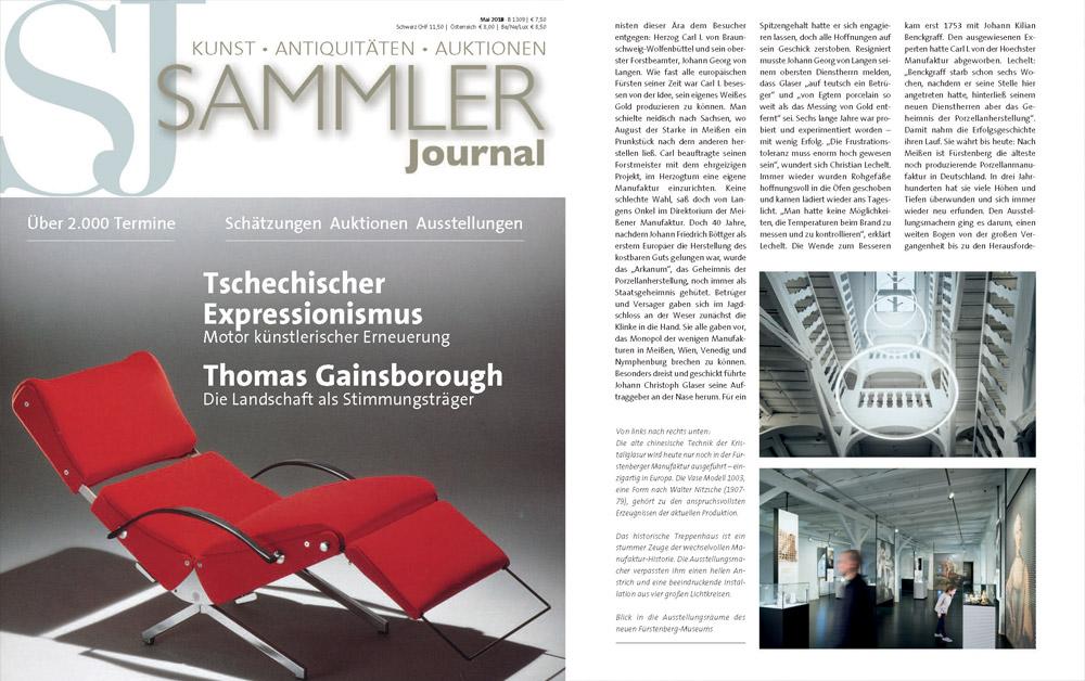 Veröffentlichung im Sammler Journal