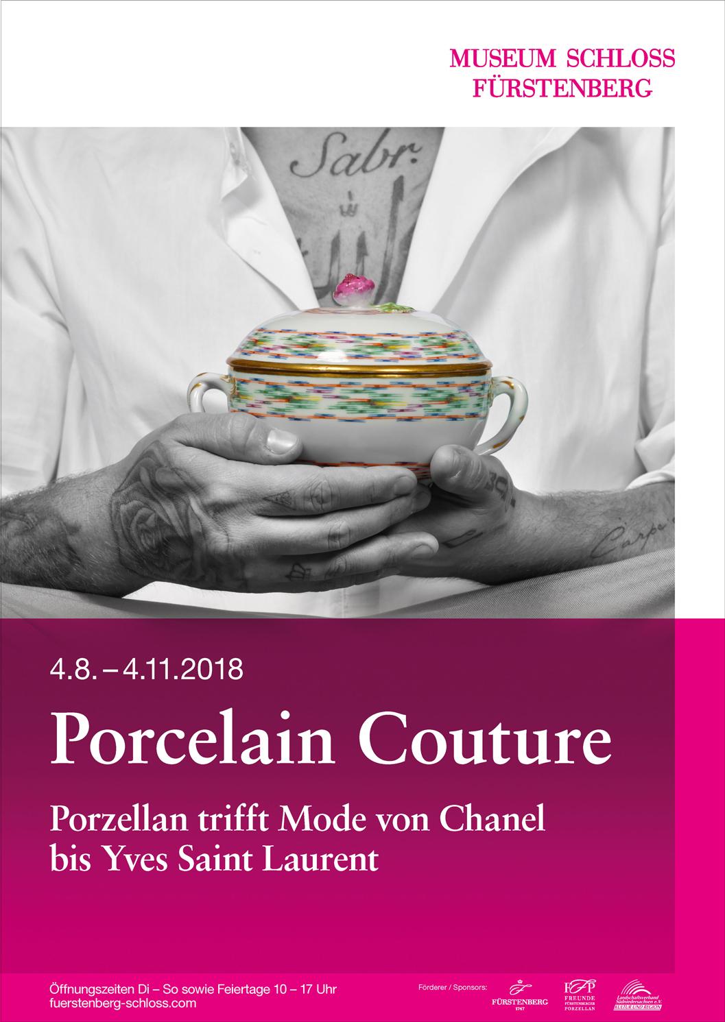 Ausstellung Porcelain Couture MUSEUM SCHLOSS FÜRSTENBERG