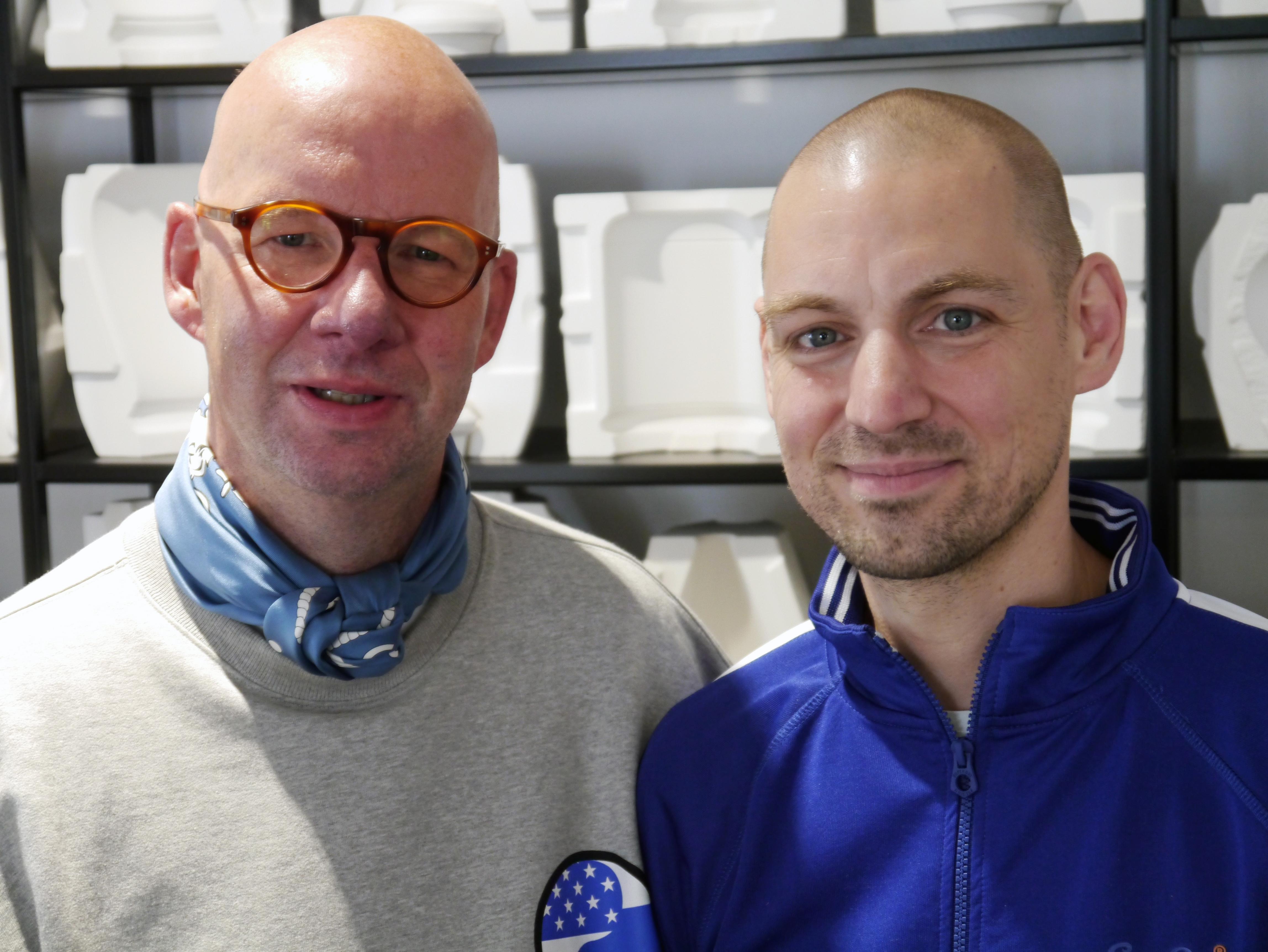 Peter Kempe und Dr. Christian Lechelt