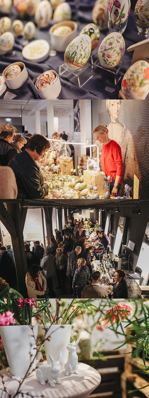 Internationaler, Ostereiermarkt, Kunst, Kunsthandwerk, Eierkünstler, Ostern, Fürstenberg, Museum Schloss Fürstenberg, Porzellan